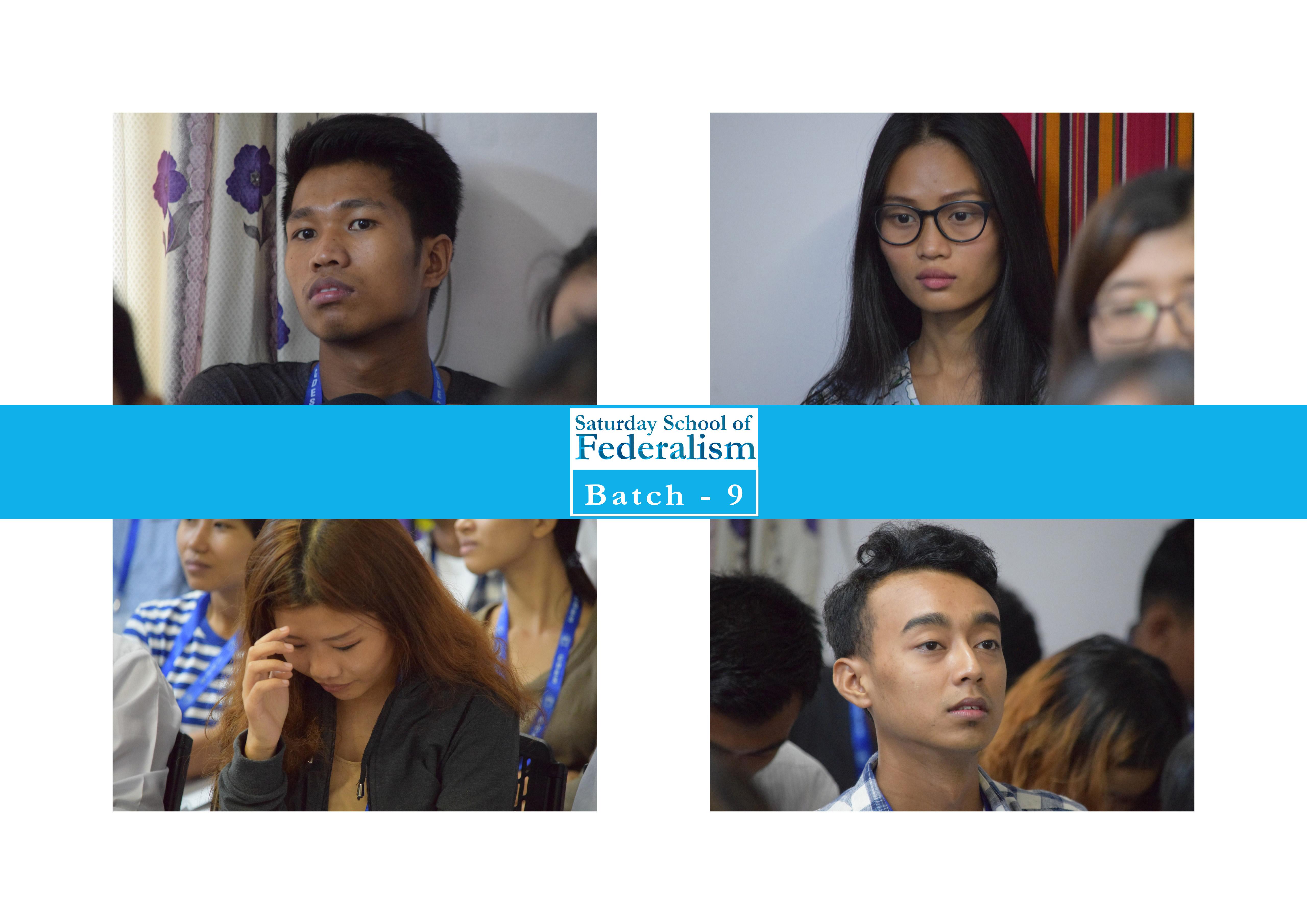Saturday School of Federalism (Batch-9)