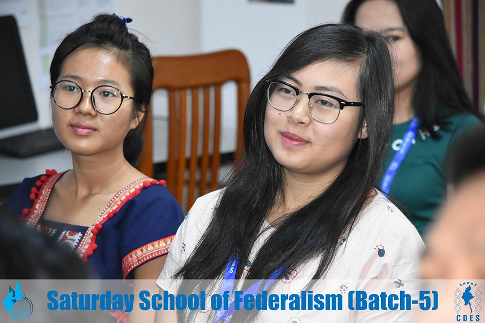 Saturday School of Federalism (Batch-5)