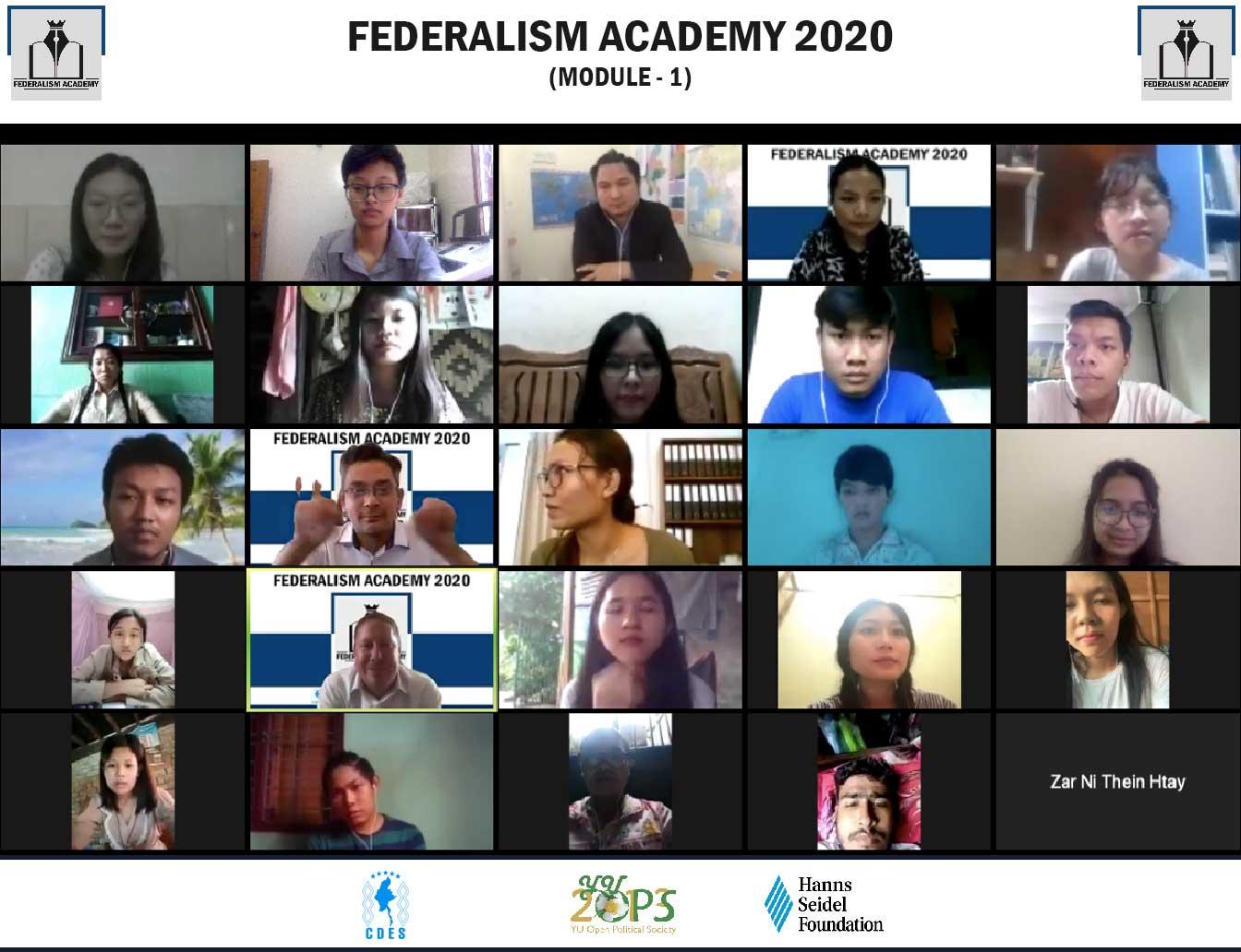 Federalism Academy 2020 (Module-1)