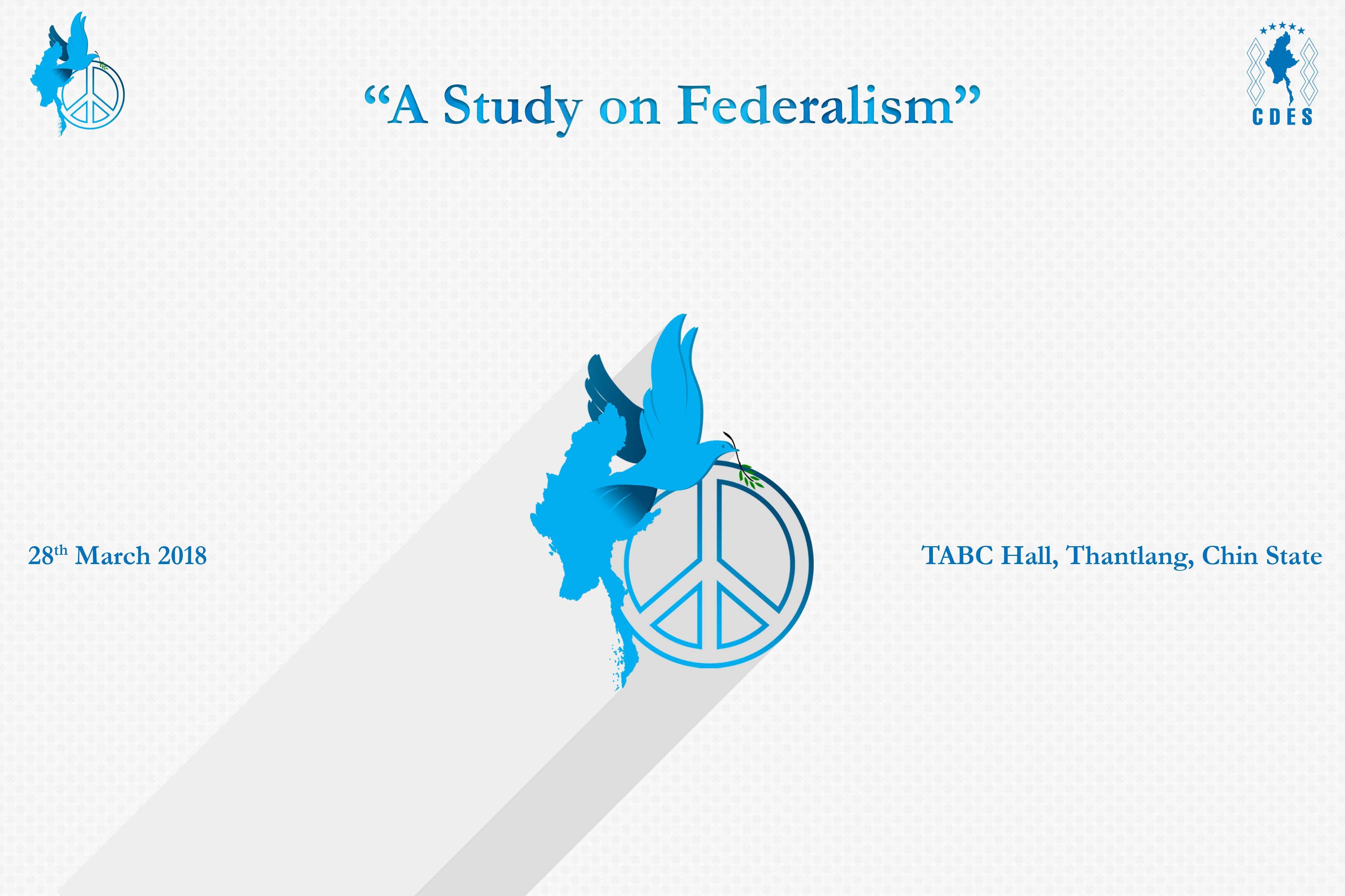 A Study on Federalism
